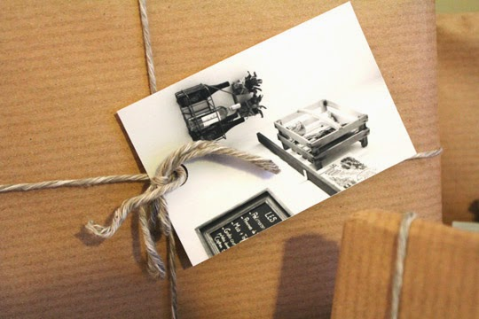 how to make your own photo gift tags