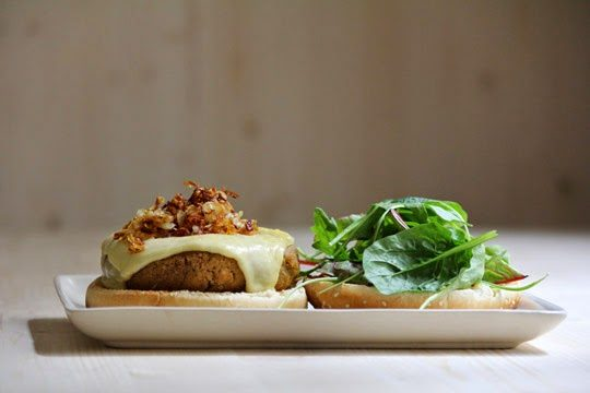 chicken free vegan burger recipe