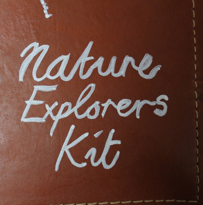 how to create a nature explorers kit craft diy http://www.archieandtherug.com/2018/09/a-nature-adventure-kit-diy.html