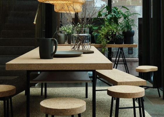 cork design trend