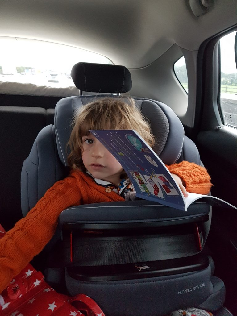 how to survive a road trip with children