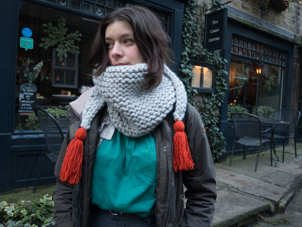 how to knit a triangle scarf beginners novice knitting free pattern