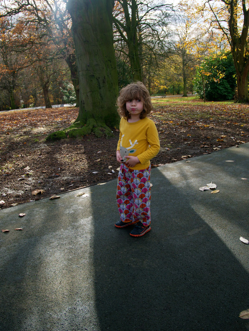 autumn day roundhay park days out with kids west yorkshire