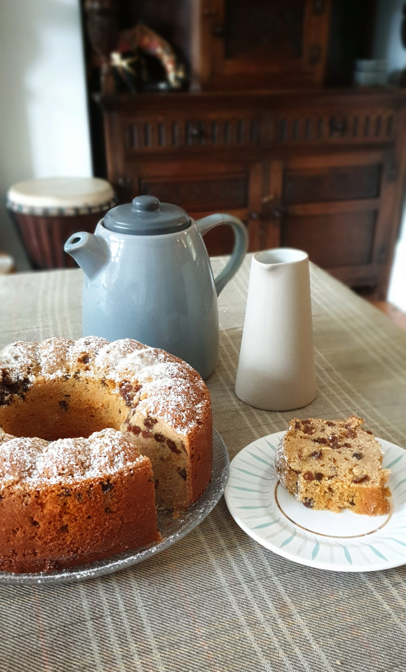 rooibos tea fruit cake recipe